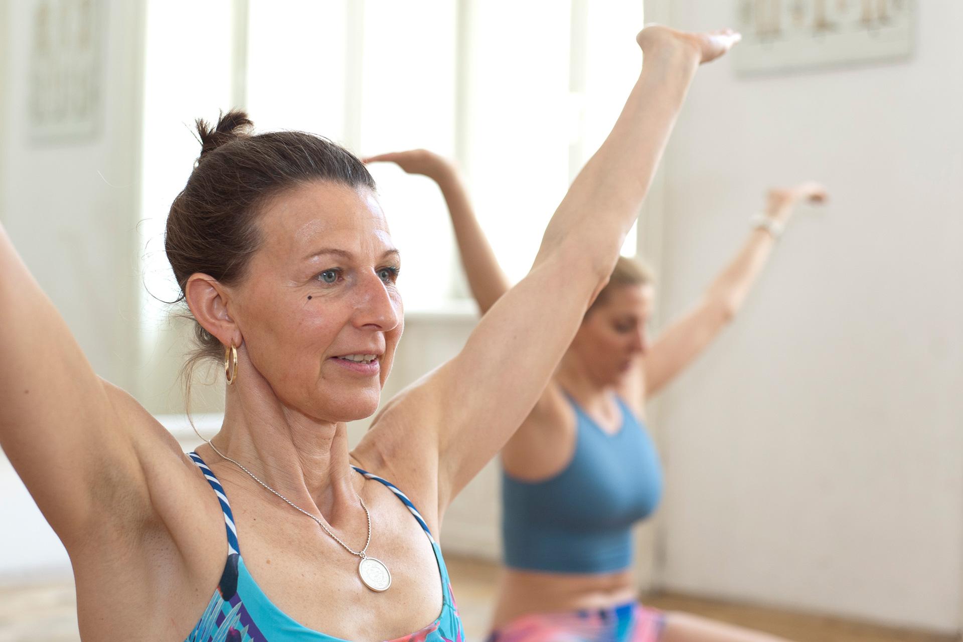 pilates myofasziales bewusstsein achtsamkeit Körperwahrnehmung Faszientraining
