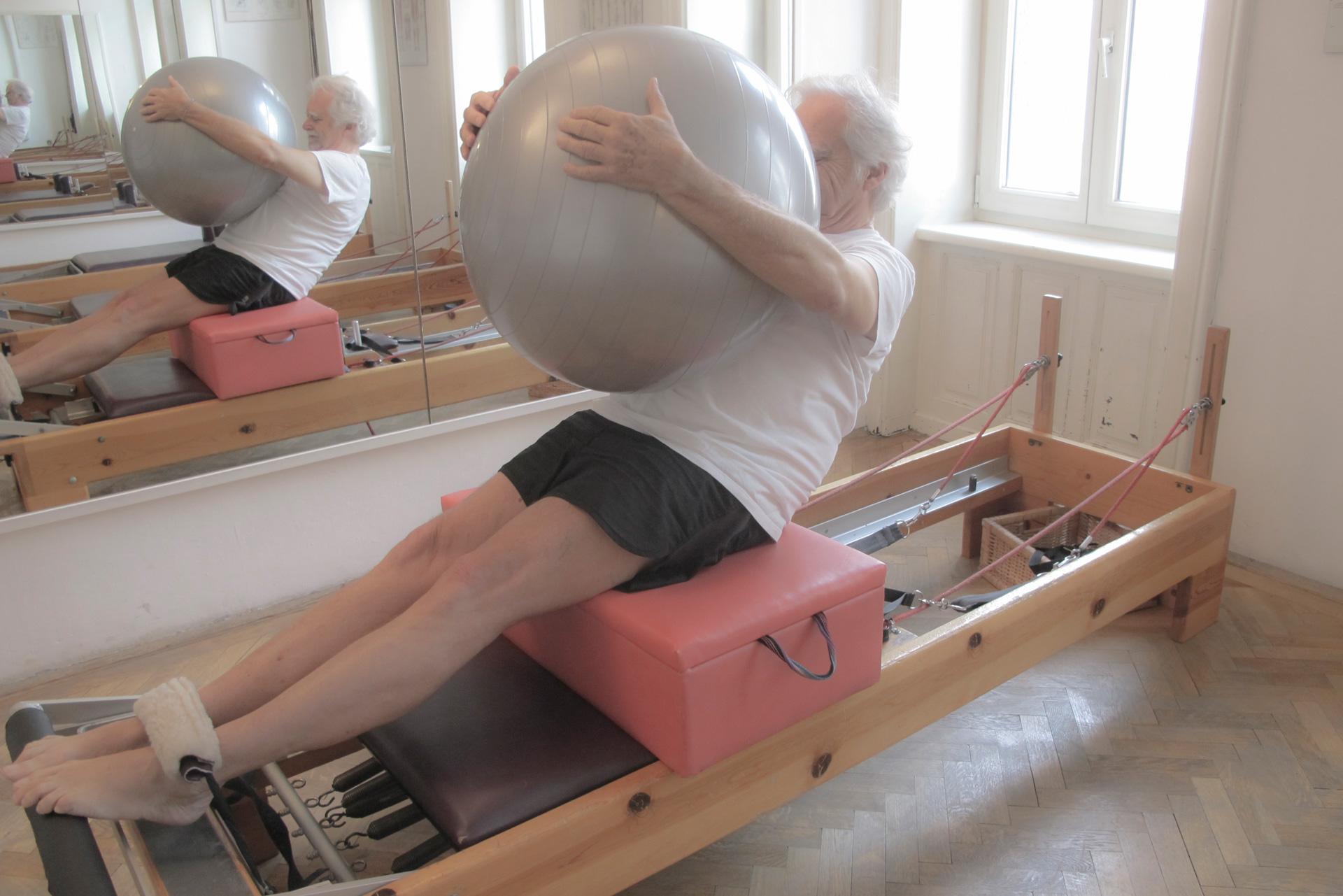 short box pilates reformer serie kinästhetische wahrnehmung